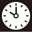 午前10時をさす時計